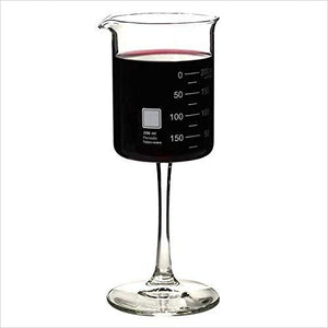 Laboratory Beaker Wine Glass-Kitchen - www.Gifteee.com - Cool Gifts \ Unique Gifts - The Best Gifts for Men, Women and Kids of All Ages
