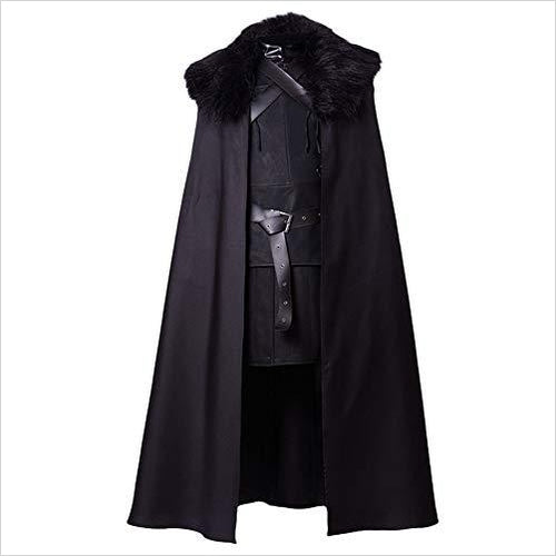 Game of Thrones Night's Watch Jon Snow Costume-Apparel - www.Gifteee.com - Cool Gifts \ Unique Gifts - The Best Gifts for Men, Women and Kids of All Ages