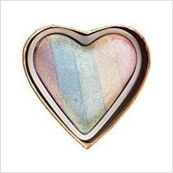 Unicorn Heart Blushing Hearts Triple Baked Rainbow Highlighter-Beauty - www.Gifteee.com - Cool Gifts \ Unique Gifts - The Best Gifts for Men, Women and Kids of All Ages