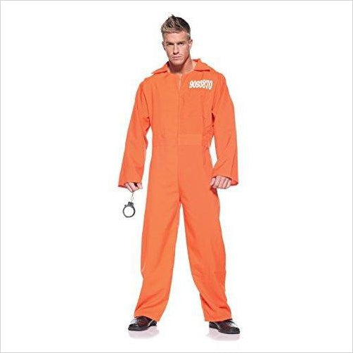 Men's Prisoner Costume - Prison Jumpsuit - Gifteee. Find cool & unique gifts for men, women and kids