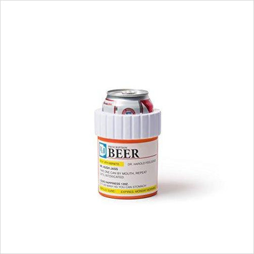 Prescription Pill BEER cooler - Find funny gift ideas, the best gag gifts, gifts for pranksters that will make everybody laugh out loud at Gifteee Cool gifts, Funny gag Gifts for adults and kids