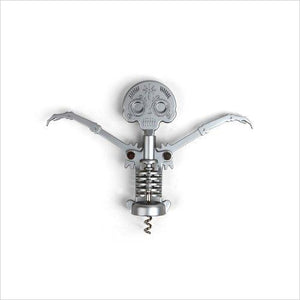 Day of the Dead Corkscrew - Find unique gift ideas for foodies, for those who love to cook, love to eat, wine lovers, bar accessories and that enjoy unique kitchen gifts and accessories at Gifteee Unique Gifts, Cool gifts for men and women