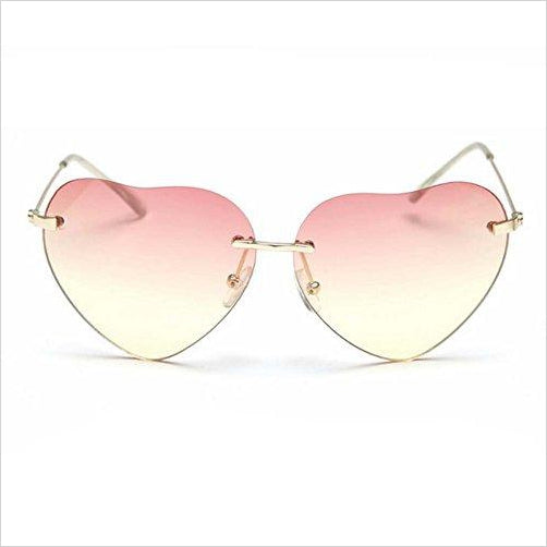 Heart-shaped Wayfarer Sunglasses-Apparel - www.Gifteee.com - Cool Gifts \ Unique Gifts - The Best Gifts for Men, Women and Kids of All Ages