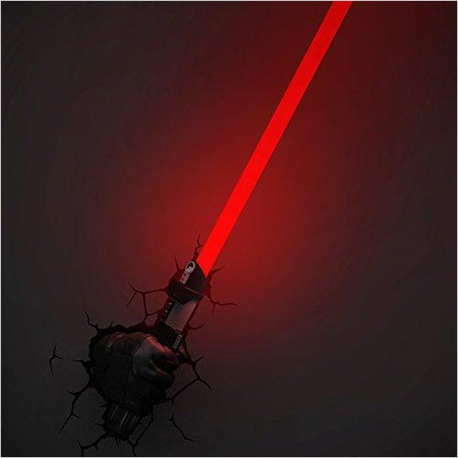 Star Wars Darth Vader Hand with Lightsaber 3D Deco Light - Gifteee. Find cool & unique gifts for men, women and kids