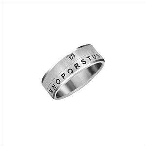 Secret Message Decoder Ring-Apparel - www.Gifteee.com - Cool Gifts \ Unique Gifts - The Best Gifts for Men, Women and Kids of All Ages