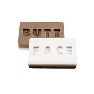 Two Sided Butt Face Soap-Toy - www.Gifteee.com - Cool Gifts \ Unique Gifts - The Best Gifts for Men, Women and Kids of All Ages
