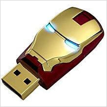 Iron Man The Avengers USB Flash Drive-Personal Computer - www.Gifteee.com - Cool Gifts \ Unique Gifts - The Best Gifts for Men, Women and Kids of All Ages