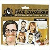Face Drink Coasters-Toy - www.Gifteee.com - Cool Gifts \ Unique Gifts - The Best Gifts for Men, Women and Kids of All Ages