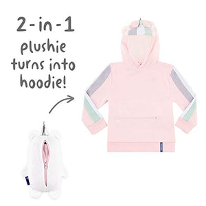 Unicorn - 2-in-1 Transforming Hoodie and Soft Plushie