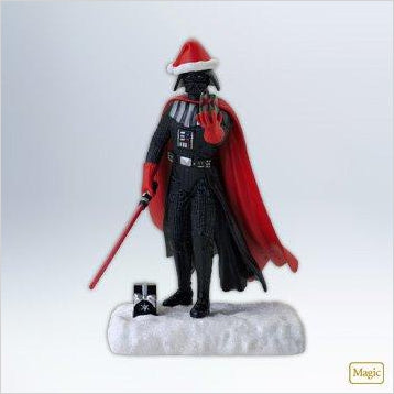 Star Wars Darth Vader Christmas Ornament - Find unique gifts for Star Wars fans, new star wars games and Star wars LEGO sets, star wars collectibles, star wars gadgets and kitchen accessories at Gifteee Cool gifts, Unique Gifts for Star Wars fans