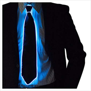 Light Up Neck Tie-Apparel - www.Gifteee.com - Cool Gifts \ Unique Gifts - The Best Gifts for Men, Women and Kids of All Ages