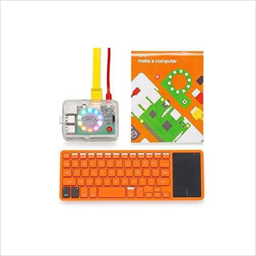 Kano Computer Kit – Make a computer, learn to code - Find unique STEM gifts find science kits, educational games, environmental gifts and toys for boys and girls at Gifteee Cool gifts, Unique Gifts for science lovers