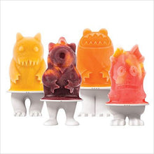 Load image into Gallery viewer, Monsters Ice Pop Molds - Find scary gifts for Halloween, disgusting gifts for horror, weird gifts for oddity lovers and some firefighting special effects lovers at Gifteee Cool gifts, Unique Gifts for Halloween
