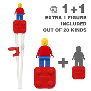 Lego Chopstick for kids - Gifteee - Unique Gift Ideas for Adults & Kids of all ages. The Best Birthday Gifts & Christmas Gifts.