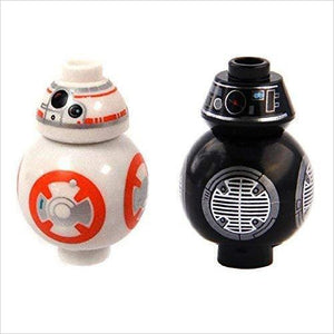 LEGO Star Wars Episode 8 Last Jedi Set of 2 Minifigure - BB-8 & BB-9E Droids - Find unique gifts for Star Wars fans, new star wars games and Star wars LEGO sets, star wars collectibles, star wars gadgets and kitchen accessories at Gifteee Cool gifts, Unique Gifts for Star Wars fans