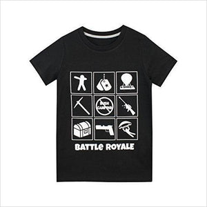 Battle Royale Fortnite T-Shirt-Apparel - www.Gifteee.com - Cool Gifts \ Unique Gifts - The Best Gifts for Men, Women and Kids of All Ages