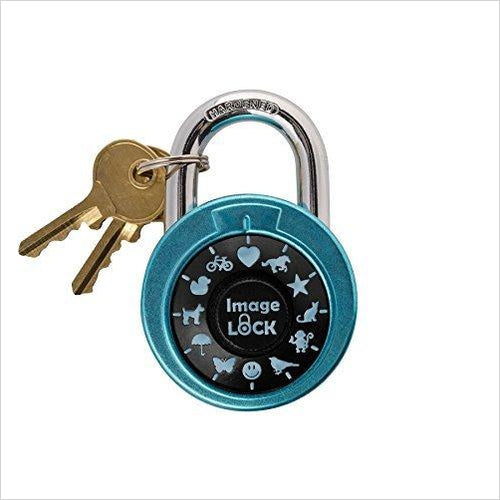Combination Lock with Pictures-Home Improvement - www.Gifteee.com - Cool Gifts \ Unique Gifts - The Best Gifts for Men, Women and Kids of All Ages