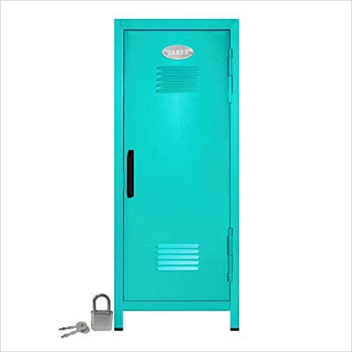 Mini Locker with Lock and Key-Office Product - www.Gifteee.com - Cool Gifts \ Unique Gifts - The Best Gifts for Men, Women and Kids of All Ages