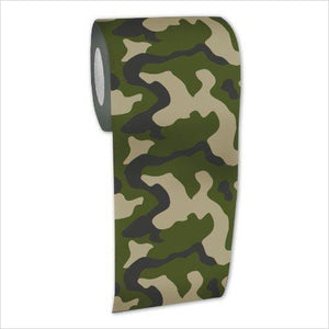 Camouflage Toilet Paper-Kitchen - www.Gifteee.com - Cool Gifts \ Unique Gifts - The Best Gifts for Men, Women and Kids of All Ages