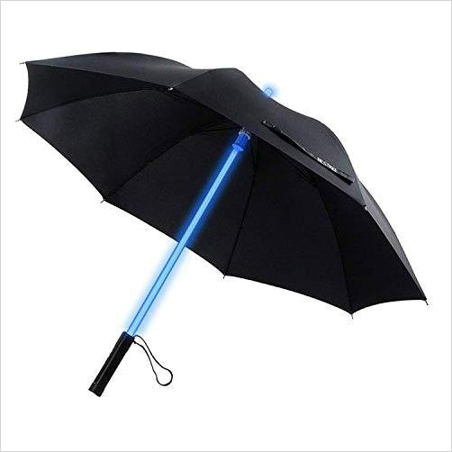Lightsaber Light Umbrella-Sports - www.Gifteee.com - Cool Gifts \ Unique Gifts - The Best Gifts for Men, Women and Kids of All Ages