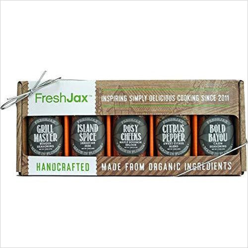 All-Star Barbecue Seasonings Grill Gift Box-Grocery - www.Gifteee.com - Cool Gifts \ Unique Gifts - The Best Gifts for Men, Women and Kids of All Ages