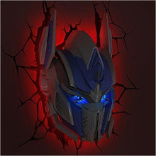 Load image into Gallery viewer, Transformers Optimus Prime 3D Deco Light - Find unique gifts for boys age 5-11 year old, gifts for your son, gifts for your kids birthday or Christmas, gifts for you children classmates and friends at Gifteee Unique Gifts, Cool gifts for boys