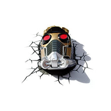 Load image into Gallery viewer, Marvel Guardians of The Galaxy Star Lord 3D Deco Light - Find unique gifts for superhero fans, the avengers, DC, marvel fans all super villians and super heroes gift ideas, games collectibles and gadgets at Gifteee Cool gifts, Unique Gifts for comic book fans