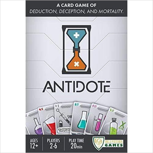 Antidote Card Game-Toy - www.Gifteee.com - Cool Gifts \ Unique Gifts - The Best Gifts for Men, Women and Kids of All Ages