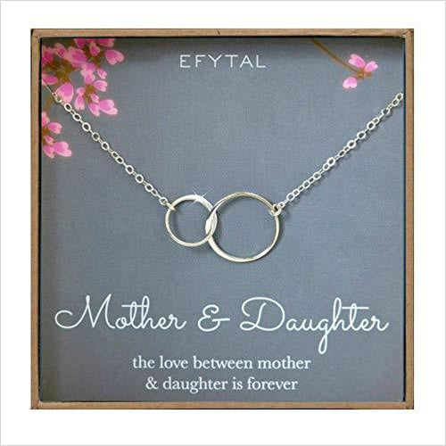 Mother Daughter Necklace - Find beautiful jewelry and accessories for women, teen girls and girls in all ages from 24k gold jewelry to children jewelry. necklaces, earrings, rings, engagement rings, unique jewelry for valentine's day at Gifteee Special gifts, Beautiful gifts for women