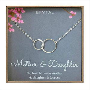 Mother Daughter Necklace-Jewelry - www.Gifteee.com - Cool Gifts \ Unique Gifts - The Best Gifts for Men, Women and Kids of All Ages