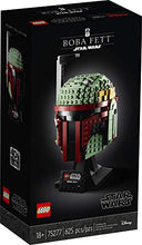 Load image into Gallery viewer, LEGO Star Wars Boba Fett Helmet