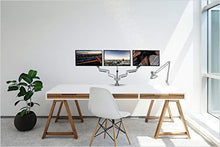 Load image into Gallery viewer, Three Monitor Stand - Gifteee. Find cool & unique gifts for men, women and kids