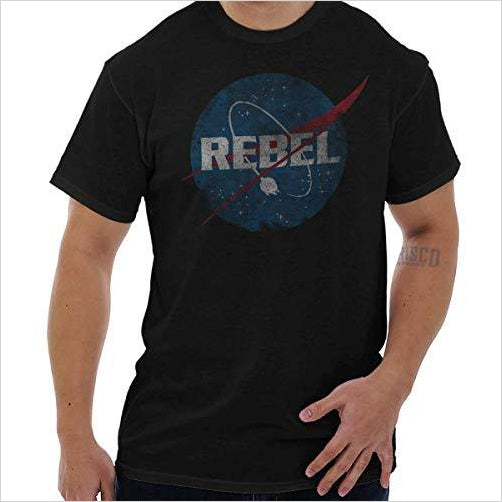 Star Wars Parody NASA T-Shirt - Find funny gift ideas, the best gag gifts, gifts for pranksters that will make everybody laugh out loud at Gifteee Cool gifts, Funny gag Gifts for adults and kids