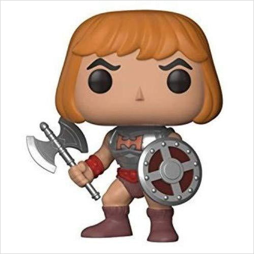 Funko Pop Television: Masters of The Universe - He-Man Collectible Vinyl Figure - Gifteee. Find cool & unique gifts for men, women and kids