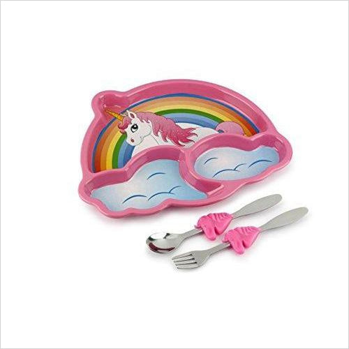 Unicorn Meal Set-Kitchen - www.Gifteee.com - Cool Gifts \ Unique Gifts - The Best Gifts for Men, Women and Kids of All Ages