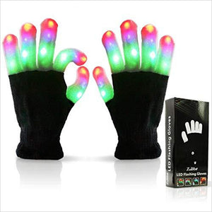 LED Finger Light Gloves - Find birthday unique party accessories and cool birthday party supplies and also birthday party games for kids and adults at Gifteee Unique Gifts, Cool gifts for kids of all ages