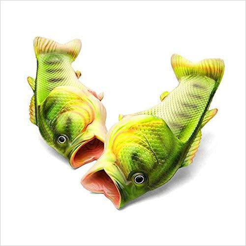 Fish Slippers - Gifteee. Find cool & unique gifts for men, women and kids