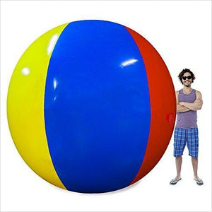 Beach Behemoth - Giant Inflatable 12-Foot Pole-to-Pole Beach Ball-Toy - www.Gifteee.com - Cool Gifts \ Unique Gifts - The Best Gifts for Men, Women and Kids of All Ages