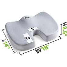 Load image into Gallery viewer, Orthopedic Comfort Foam Seat Cushion for Lower Back