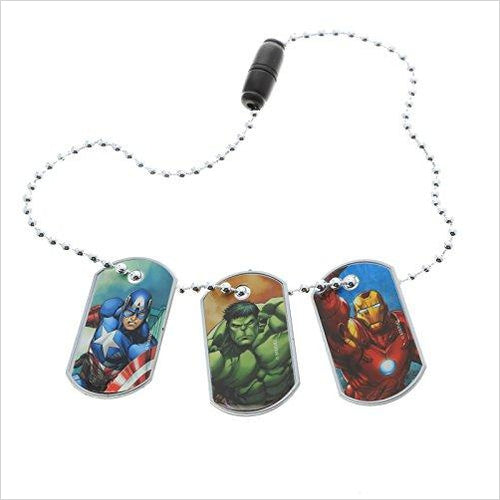 Marvel Avengers Dog Tags - Set of 3-Toy - www.Gifteee.com - Cool Gifts \ Unique Gifts - The Best Gifts for Men, Women and Kids of All Ages