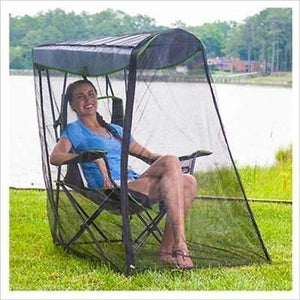 Folding Canopy Chair-canopy chair - www.Gifteee.com - Cool Gifts \ Unique Gifts - The Best Gifts for Men, Women and Kids of All Ages