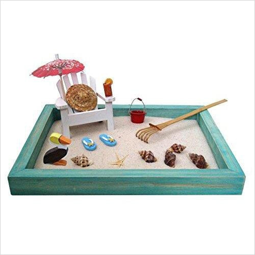 Beach Zen Garden-Toy - www.Gifteee.com - Cool Gifts \ Unique Gifts - The Best Gifts for Men, Women and Kids of All Ages