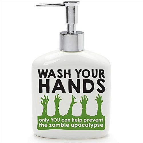 Zombie Soap Dispenser - Gifteee. Find cool & unique gifts for men, women and kids