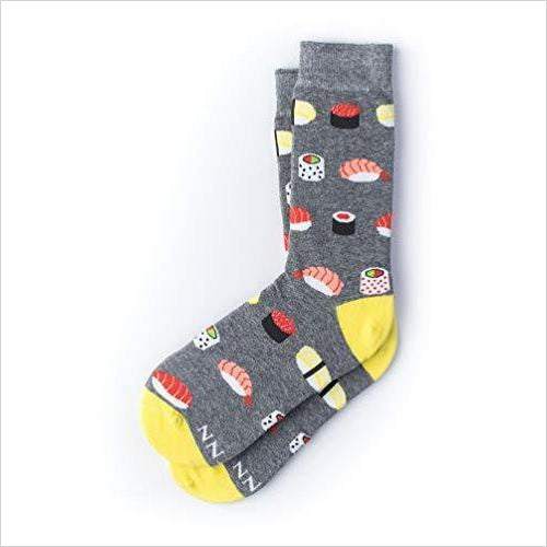 Sushi Addict Socks-Apparel - www.Gifteee.com - Cool Gifts \ Unique Gifts - The Best Gifts for Men, Women and Kids of All Ages