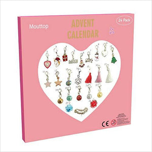 DIY 23 Charms Charm Bracelet Advent Calendar-Home - www.Gifteee.com - Cool Gifts \ Unique Gifts - The Best Gifts for Men, Women and Kids of All Ages