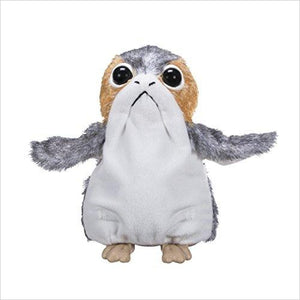 Star Wars: The Last Jedi Porg Electronic Plush - Find unique gifts for Star Wars fans, new star wars games and Star wars LEGO sets, star wars collectibles, star wars gadgets and kitchen accessories at Gifteee Cool gifts, Unique Gifts for Star Wars fans