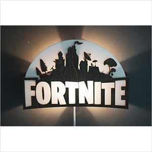 Fortnite Sign with Light