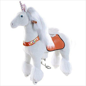 Ride-On Unicorn for 4-9 Years Old-Toy - www.Gifteee.com - Cool Gifts \ Unique Gifts - The Best Gifts for Men, Women and Kids of All Ages