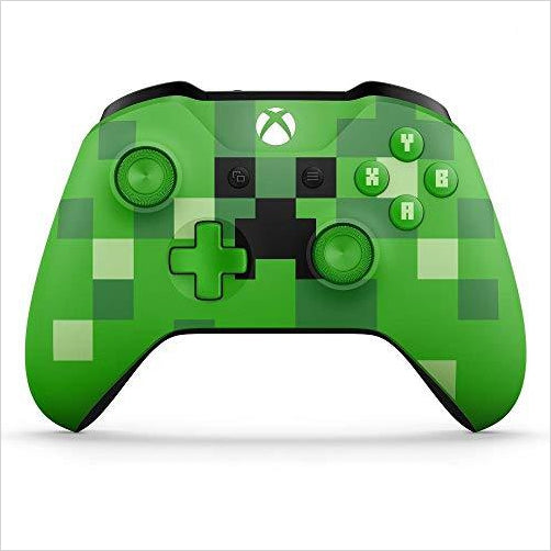 Xbox/PC Wireless Controller - Minecraft Creeper Green Special Limited Edition-Video Games - www.Gifteee.com - Cool Gifts \ Unique Gifts - The Best Gifts for Men, Women and Kids of All Ages