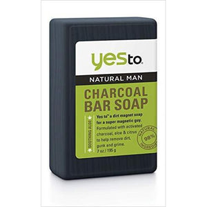 Natural Man Charcoal Bar Soap-Health and Beauty - www.Gifteee.com - Cool Gifts \ Unique Gifts - The Best Gifts for Men, Women and Kids of All Ages